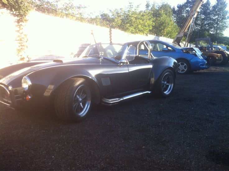 Absolutely beautiful 2011 AC Cobra we picked up in Nanaimo and waiting to get loaded up enclosed and make it's way out to Windermere BC. AWESOME is an understatement!