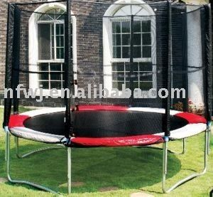 #10ft trampoline, #trampoline with safety enclosure, #mini trampoline with net
