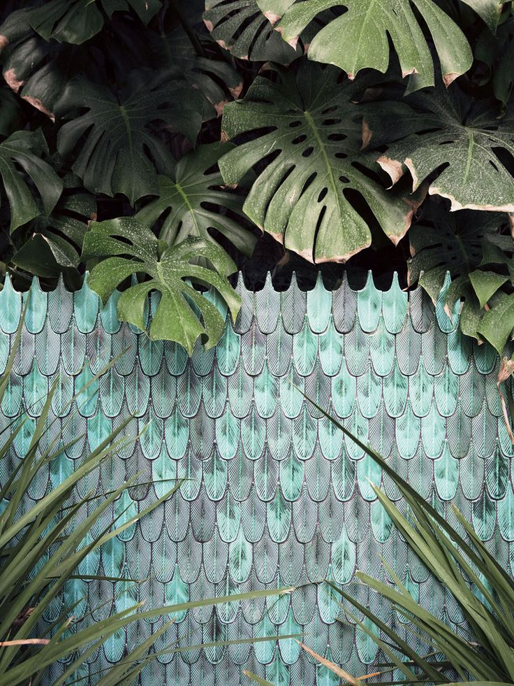 Mosaïque plumée |MilK decoration