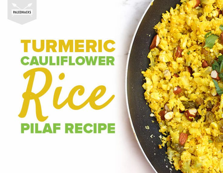 Sweet, savory, crunchy and soft -- this Paleo pilaf rivals your favorite Middle Eastern version.