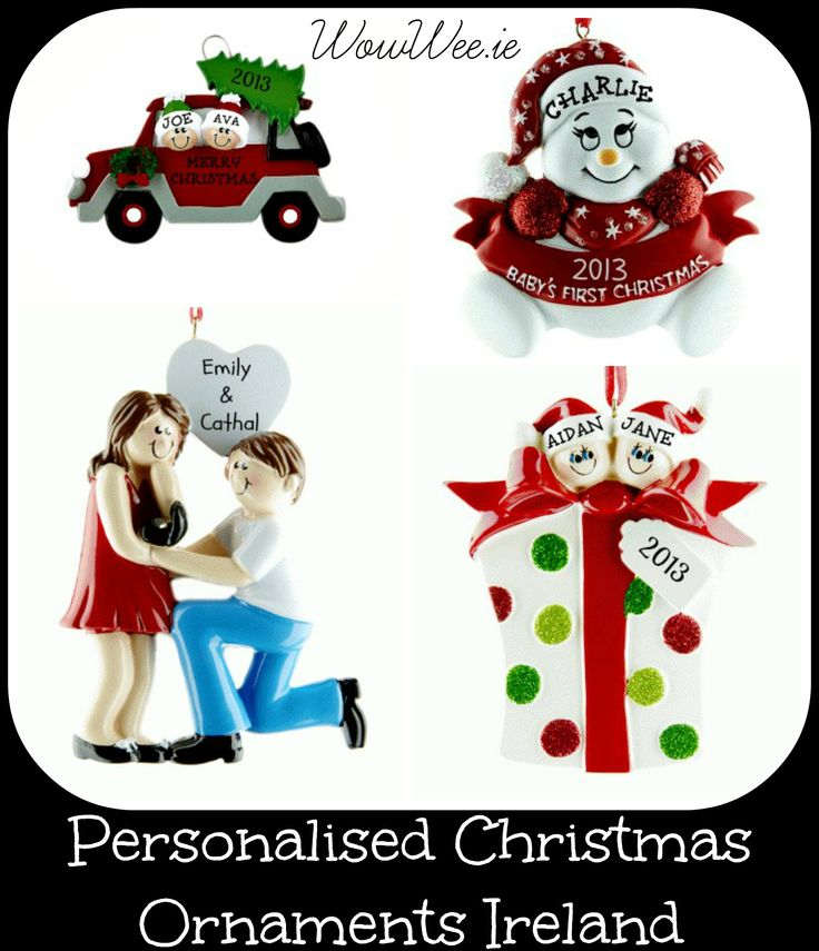 Personalised christmas ornaments http://www.wowwee.ie/Personalised-Christmas-Tree-Decorations-s/30.htm