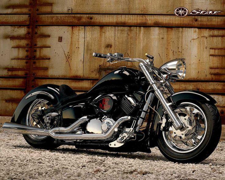 big bike wallpaper blackYamaha Chopper Blackjpg  1280  1024  Big Bike Board 2VaPToyt