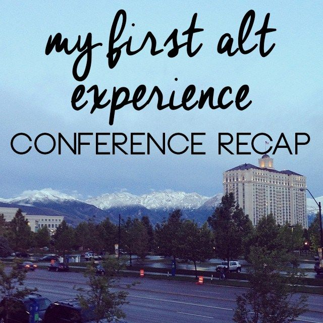 Set Forth Studio // Conference recap – my first Alt experience