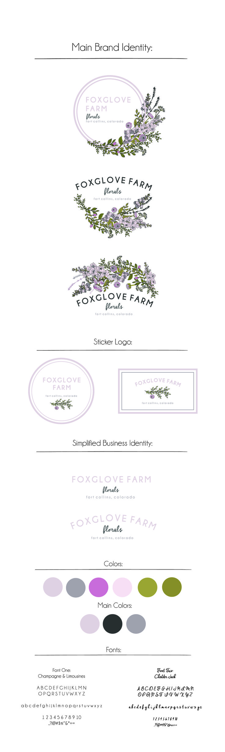 Hand Drawn dusty pink Florist wreath logo Design — Maija Rebecca Hand Drawn