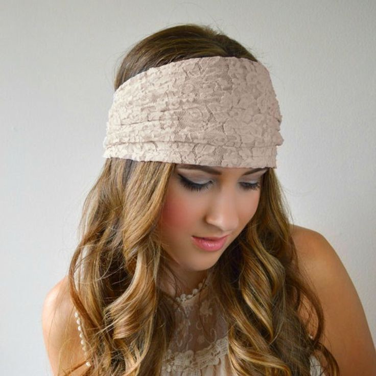 Lace Headband //Price: $7.95 & FREE Shipping //     #hairsaleshop #hairaccessories