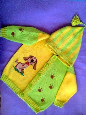 Кофточка для мальчика - запись пользователя Ольга (Оленька) в сообществе Вязание спицами в категории Вязание спицами для детей