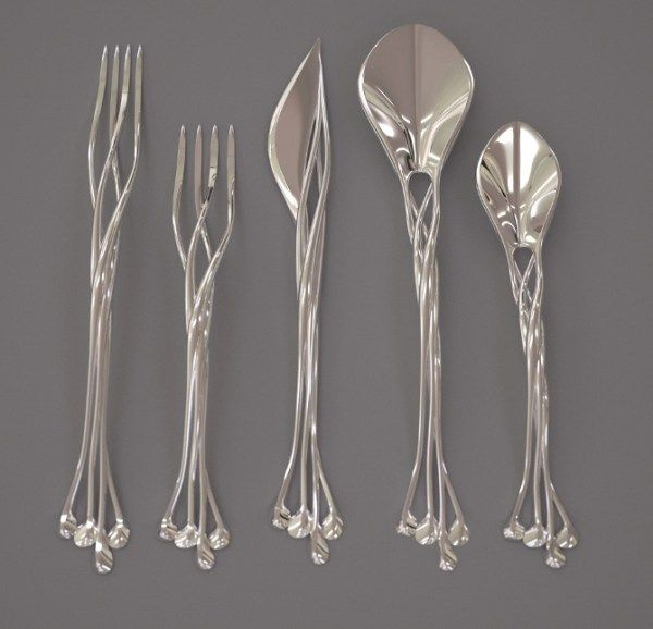 Bring the Elven Court in Your Home with this Set of Elven Silverware