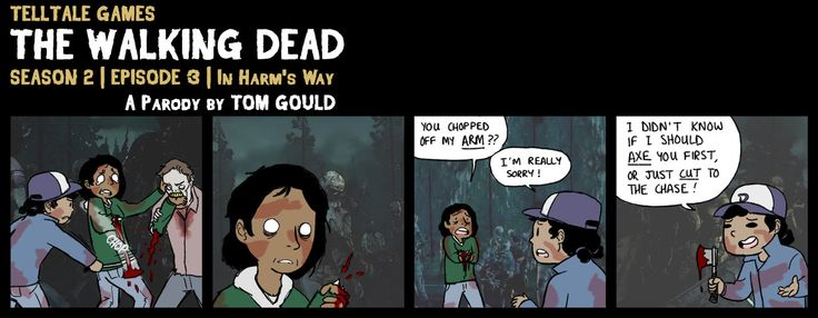 The Walking Dead Game puns