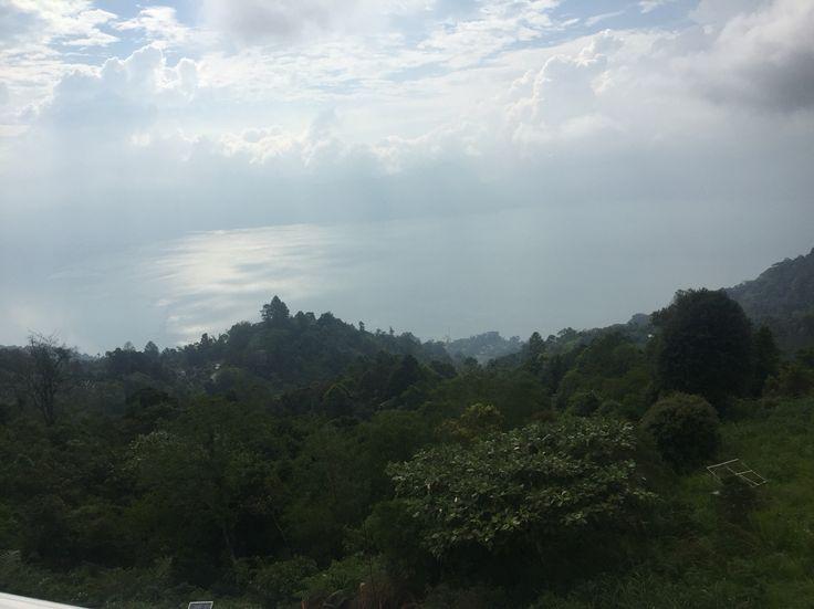 Maninjau Lake from Puncak Lawang View