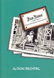 """""""Fun Home - Tragikomiks rodzinny"""" Alison Bechdel. Komiks dla dorosłych. Wydawnictwo: Timof i cisi wspólnicy http://www.timof.pl/"""