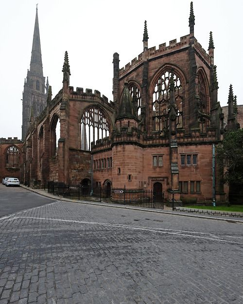 Coventry Cathedral. UK
