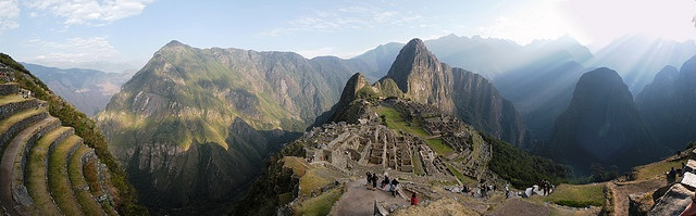 machu picchu by the obituary mambo, via Flickr