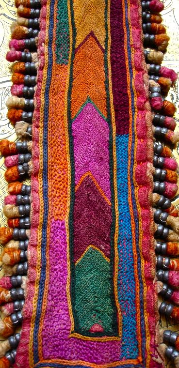 Banjara Indian embroidery patch piece