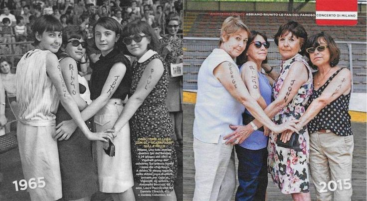 70sgroupie: beatlegirlsworld: Beatlemaniacs, 50 years later. this is actually so cool