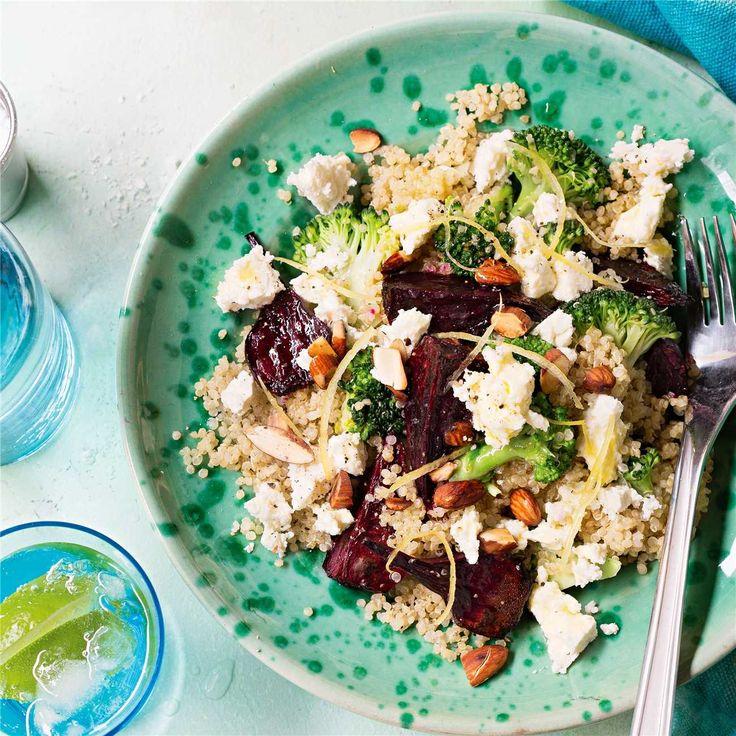 Beetroot & Ricotta Quinoa Salad