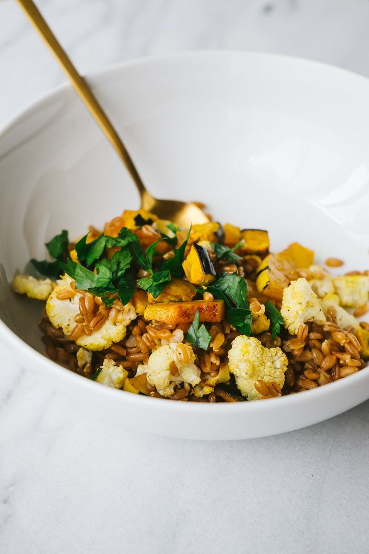 A Golden Bowl | For Fall by Faring Well #vegan #recipes