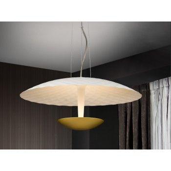 Schuller 257685 LAMPARA LAURA BLANCO ORO