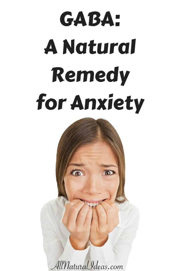 Many use GABA supplements as a natural anxiety remedy. GABA has been clinically proven to reduce anxiety and may also help improve diabetes and blood sugar.