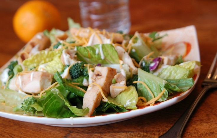 Healthy food for busy people- Tyson Grilled & Ready salad #MealsTogether #cbias