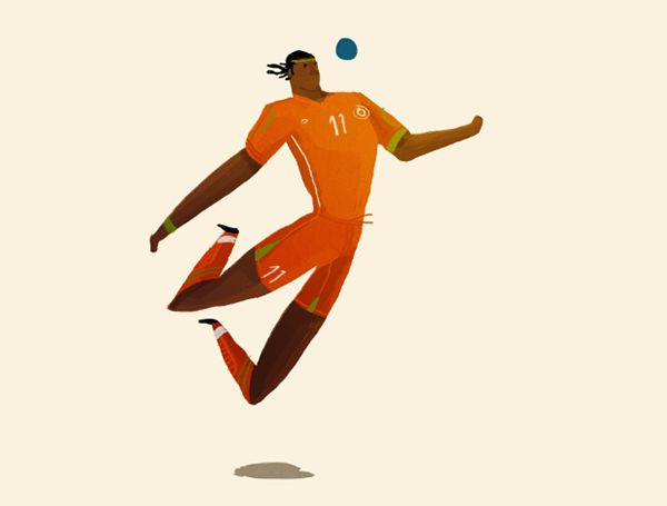 WORLD CUP 2014 by Rafael Mayani, via Behance ★ Find more at http://www.pinterest.com/competing/