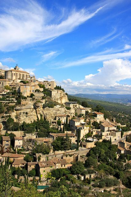 Gordes, Luberon, Provence France. chalkteal had a brilliant sourcing trip to Gordes last summer.