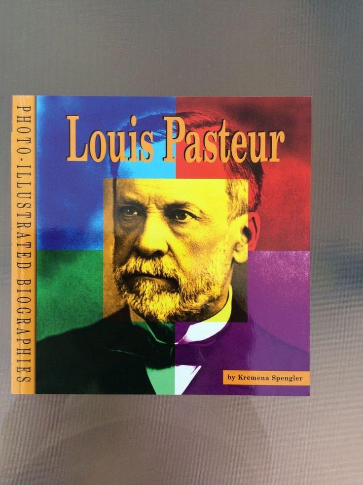 Photo-Illustrated Biographies Louis Pasteur by Kremena Spengler LIKE NEW!! in Books, Children