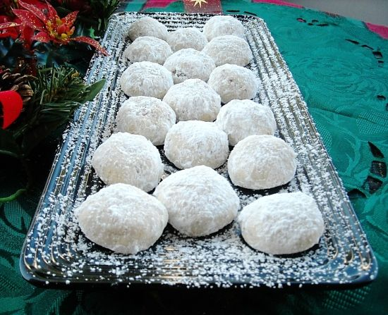 Mexican Wedding Cookies Recipe | Wedding Cookies, Mexican Wedding ...