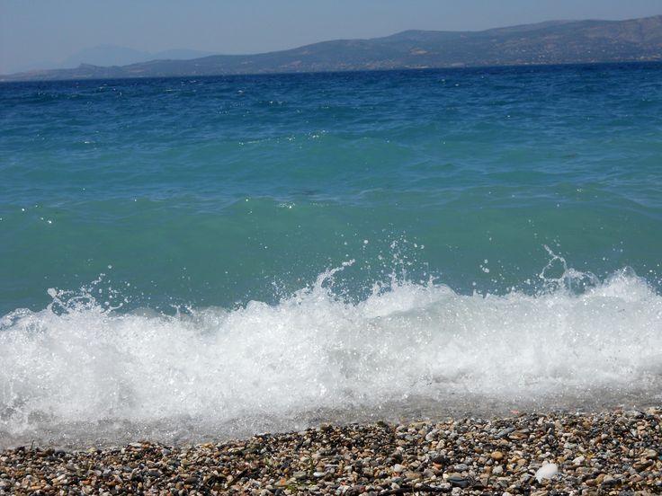 Oropos' beach