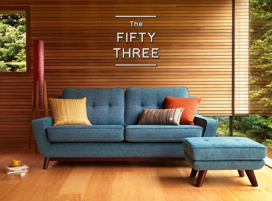 The Fifty Three range, from the new G Plan Vintage range - designed in collaboration with Hemingway Design - exclusively available from John Lewis