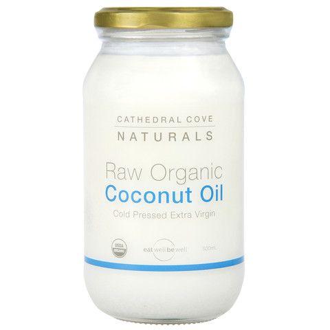 Raw Organic Coconut Oil 500mL