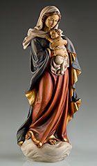 Virgen de Regensburg (Imagen en madera) - Talla de madera - Imágenes de Vírgenes - Imagineria religiosa