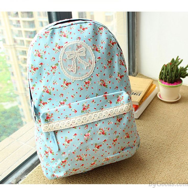 Pastoral Lace Floral Hochschule Rucksack only $24.9 in ByGoods.com!