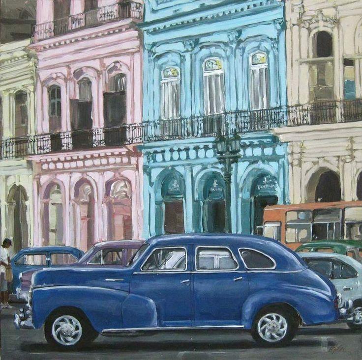 MONTREAL EXHIBITION & VERNISSAGE  Details here ... http://www.visitcuba.com/2013/02/montreals-susan-pelper-paints-cuban-cars/