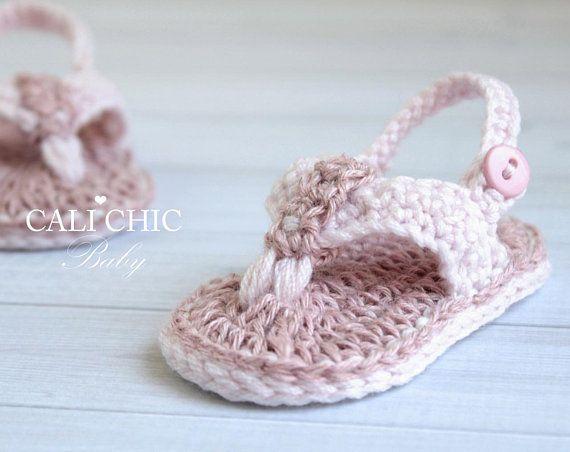 Crochet Baby Shoes PATTERN 312 Malibu