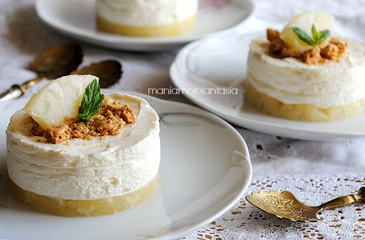 """cheesecake all'ananas monoporzione """"sottosopra""""cheesecake all'ananas monoporzione """"sottosopra"""""""