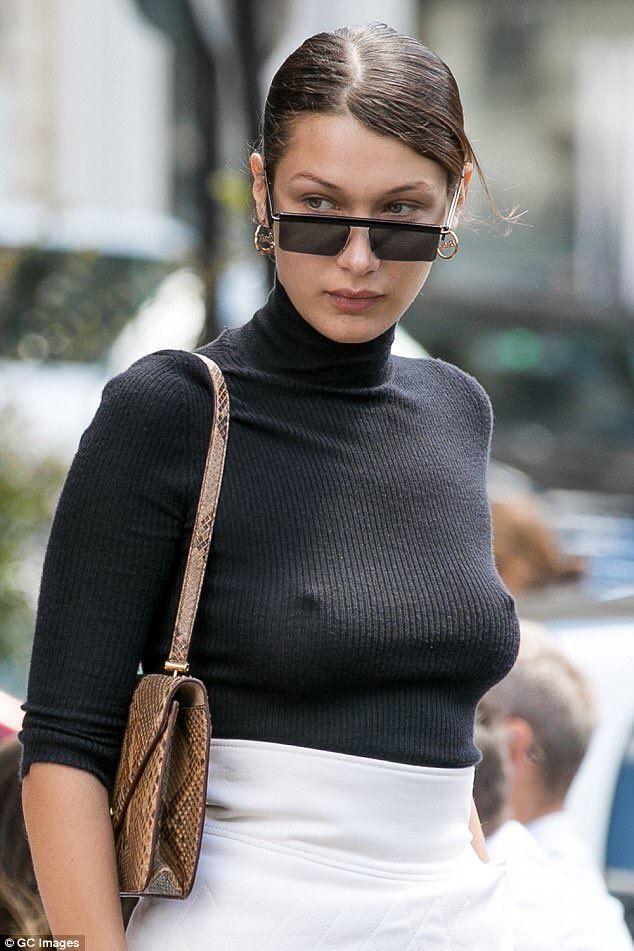 Bella Hadid Pierced Nipples  Beauty  Bella Hadid, Bella -7600
