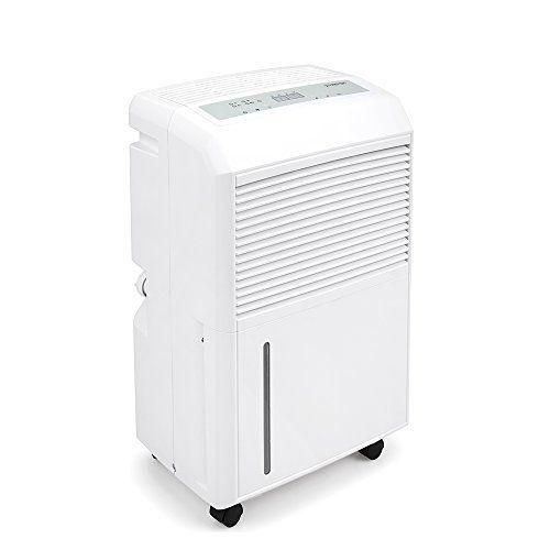 TROTEC TTK 90 E Déshumidificateur (30 l/j) pour 90 m² max.: Déshumidificateur pour 90 m² max. Capacité de déshumidification élevée de 30…