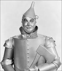 el hombre de hojalata. (El Mago de Oz)