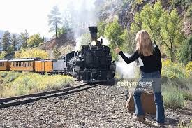 Image result for hitchhiking in group train