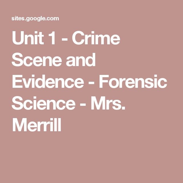 17 best ideas about Forensic Science on Pinterest | Crime ...