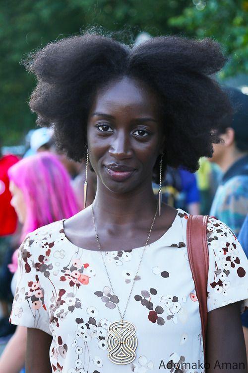 adomakoaman:   Afro #3 at @Afropunk #afropunk