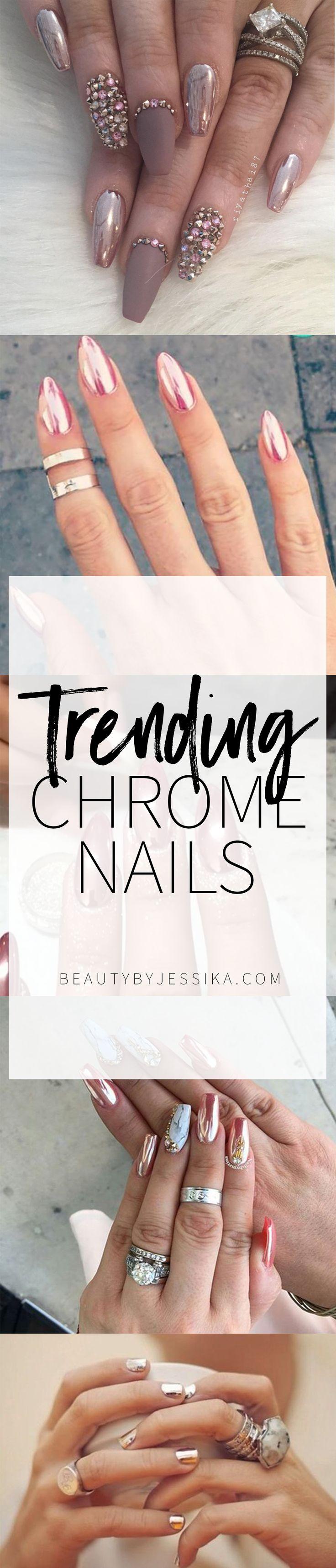 Trending / Chrome Nails
