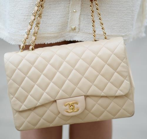 chanel quilted bag - beautiful colour. #bagporn