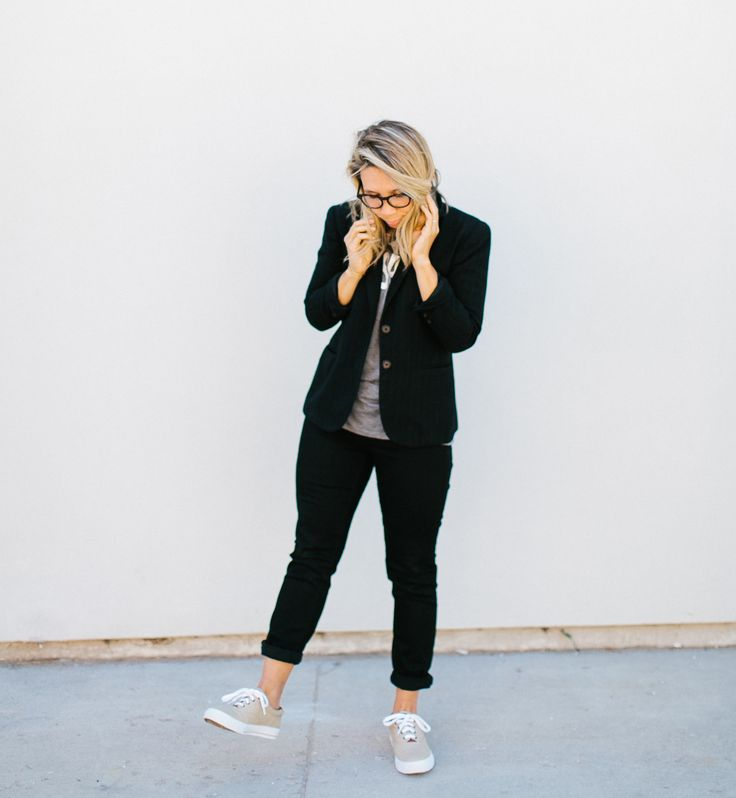 geek chic // casual + professional