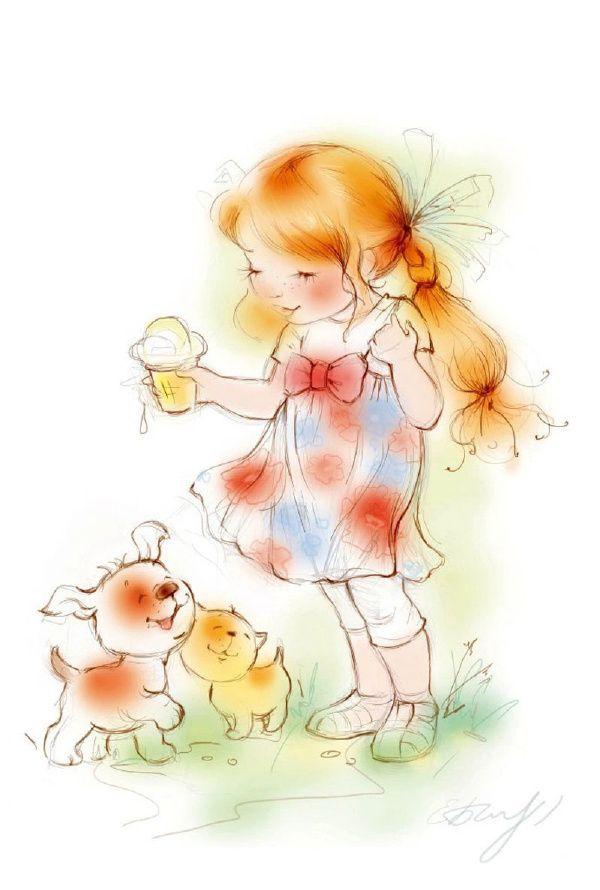 Vida inocente Misty haverá alegria radiante