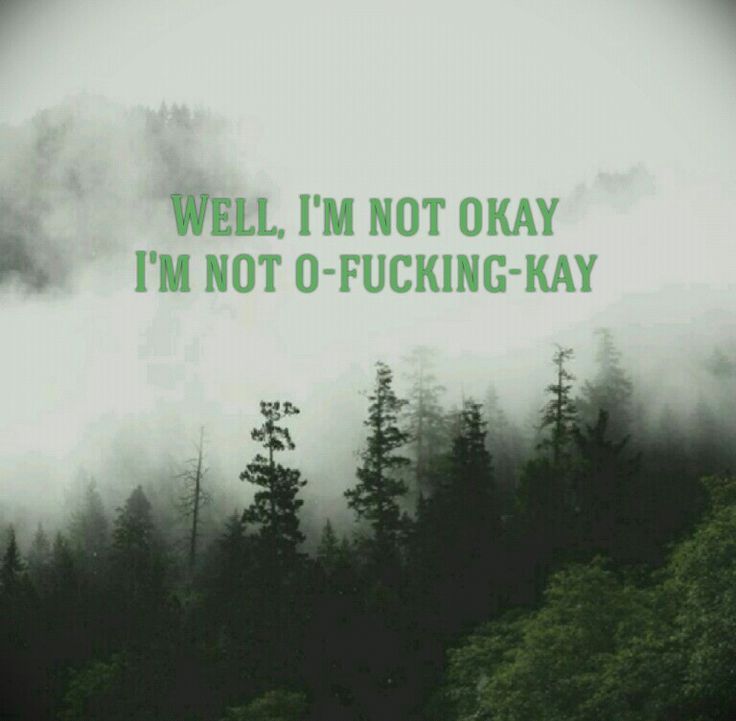 I am not Okay  (I promise) ~ My Chemical Romance