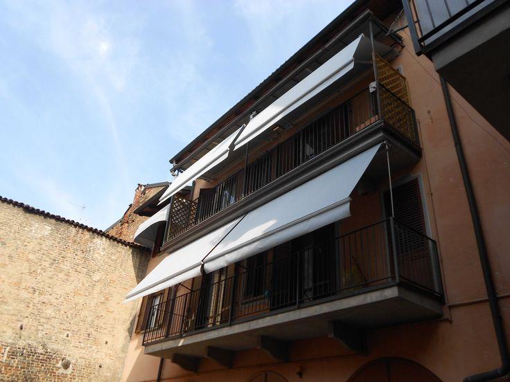 Oltre 25 fantastiche idee su tende da sole per finestra su - Tende da sole per finestre ...