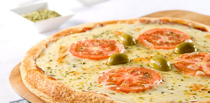 Pizza de papas a la napolitana
