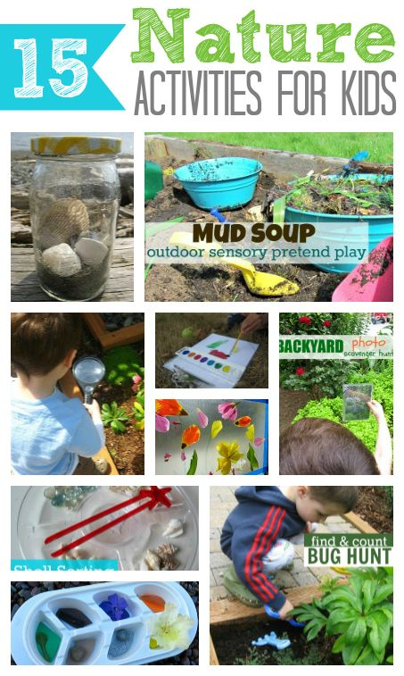 15 Nature Activities for Kids