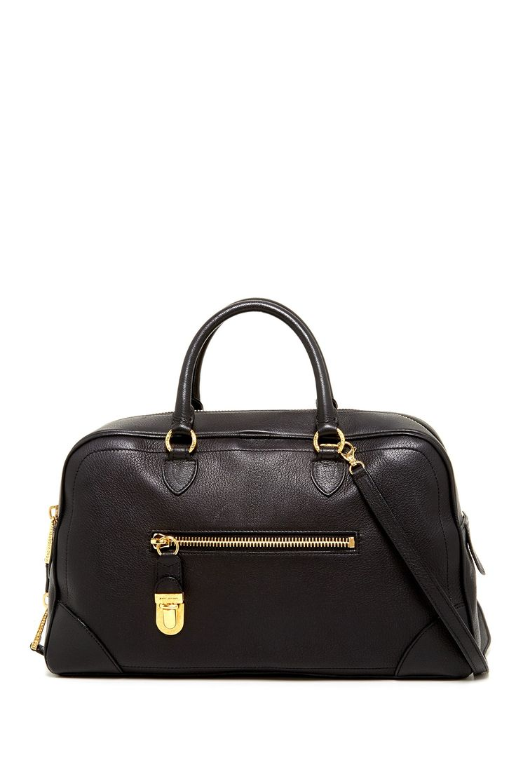 Venetia Leather Handbag by Marc Jacobs. The perfect satchel